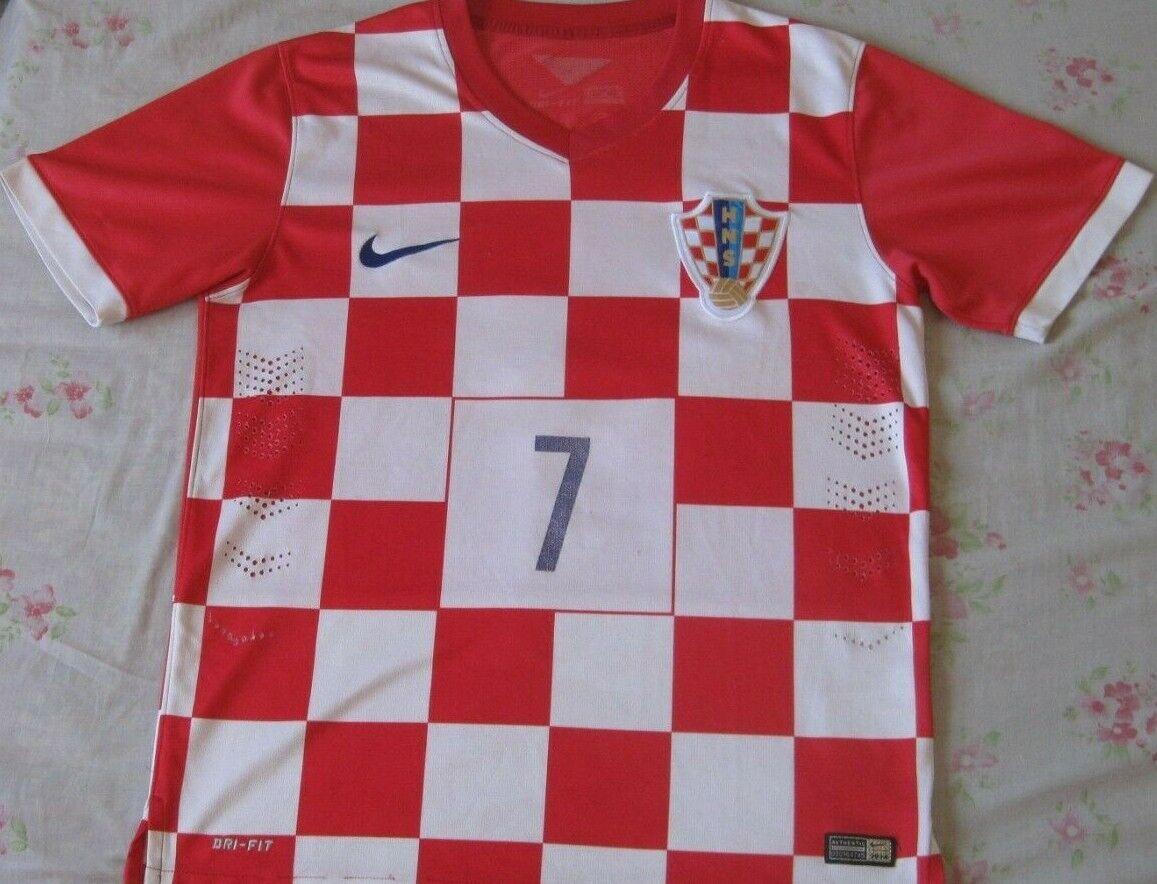 Shirt Camiseta Trikot Maillot  CROACIA Hrvatska 7 RAKITIC Talla M Season 2014  Envio gratis en todas las ordenes