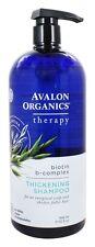 Avalon Organics - Shampoo Thickening Biotin B Complex Therapy - 32 oz.