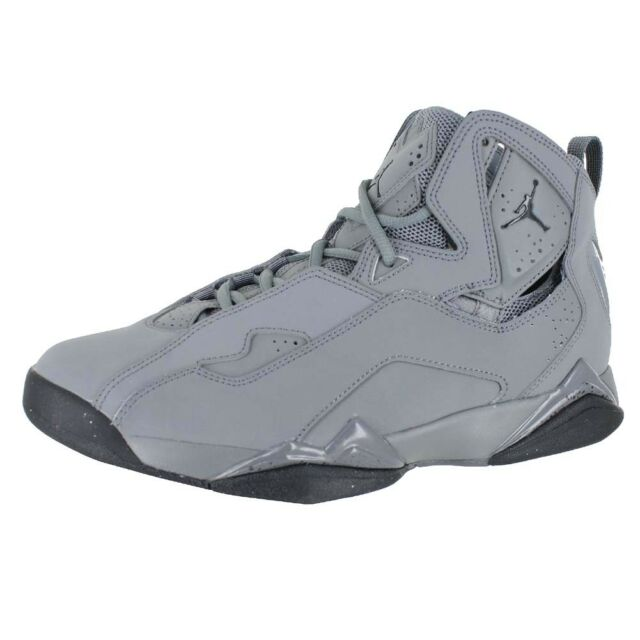 28ee22e08d4690 Jordan True Flight 342964-027 Cool Grey Black Mens US Size 12 UK 11 ...