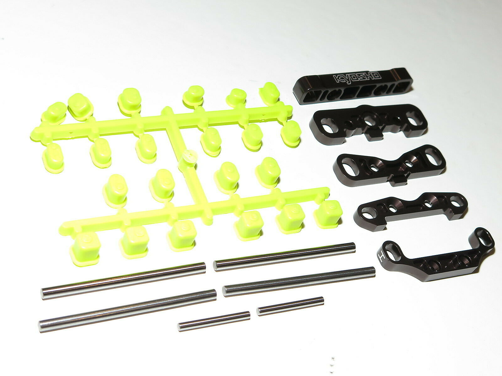 KYO33011B KYOSHO INFERNO MP9 TKI4-10TH SPECIAL ED. HINGE PINS SUSPENSION MOUNTS