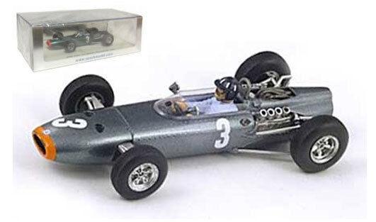 Spark S1858 BRM P261   3 winner monaco gp 1965-Graham Hill, échelle 1 43,