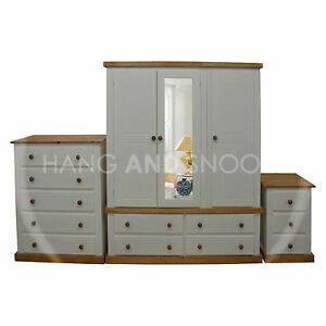 Handmade dewsbury country triple 3 piece bedroom set for Assembled bedroom furniture