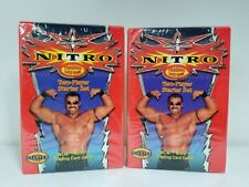 Wizards of The Coast 2000 WCW NITRO CCG 2 Player Starter Set