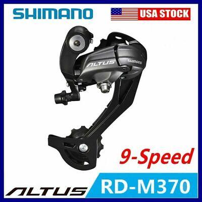 New SHIMANO ALTUS Rear Derailleurs RD-M370  Nine Gear 27 Speed Mountain Bicycle