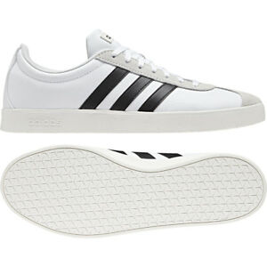 wholesale price new high best deals on Details about adidas Neo VL Court 2.0 White Black B43712 Casual Trainers  Sizes UK 7.5 - 11.5