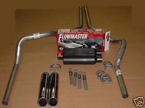 ford f150 07 13 dual exhaust kit flowmaster super 44. Black Bedroom Furniture Sets. Home Design Ideas