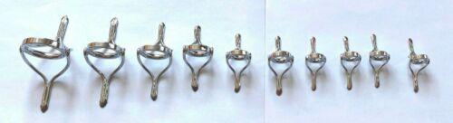 Set of 10 pcs stainless steel guides Build you own Casting Rods at great price