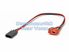 Charge Cable Adapter: Deans Female to Futaba, Receiver, Rx, JST LiPo T-Plug Lead