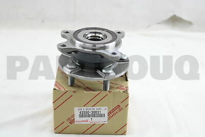 Hub And Bearing Assy, Toyota 43550-30031