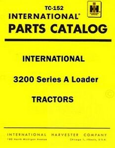 International-3200-Series-A-Loader-Tractor-Parts-Manual