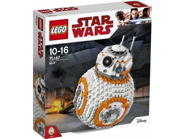 In pensione  LEGO 75187 estrella guerras BB-8   Nuovo, sigillato in fabbrica scatola   consegna diretta e rapida in fabbrica