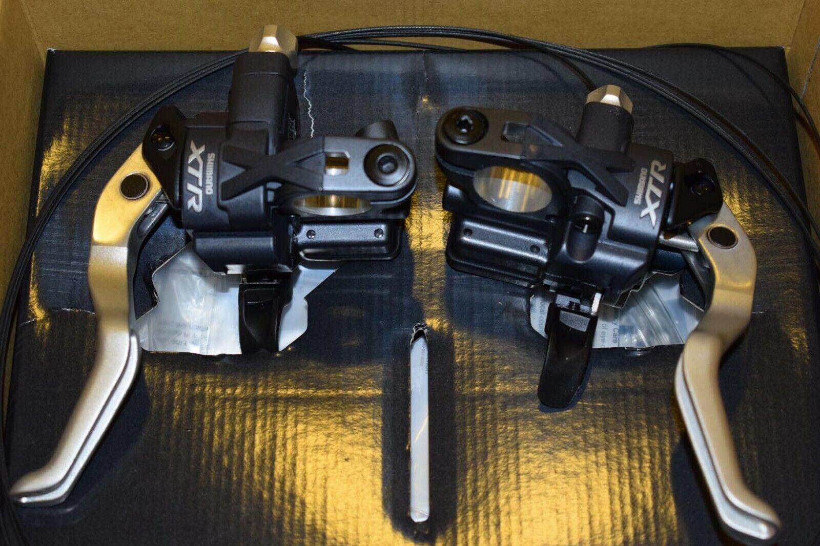 Shimano XTR ST M975 Shifter Brake Lever Set 3x9 speed combo Dual Hydraulic NIB