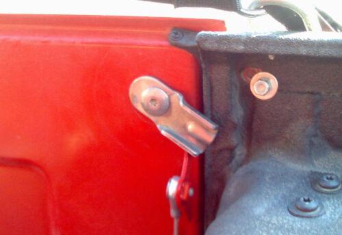 Tailgate Latch Pair Stainless Steel for Jeep CJ5 CJ7 CJ8 1976-86 30564 Kentrol