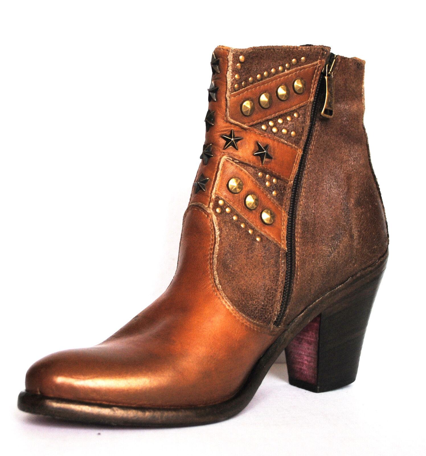vendite dirette della fabbrica Scarpe Stivali Stivali Stivali stifletten WE ARE REPLAY ITALY HANDMADE  259 TG 38 NUOVO  in cerca di agente di vendita