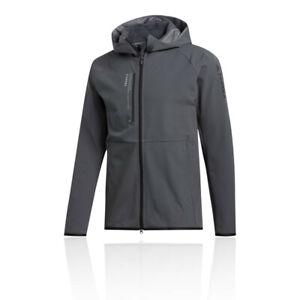 Adidas Mens Terrex felsblock Veste en polaire à capuche femme-Gris Sports Outdoors