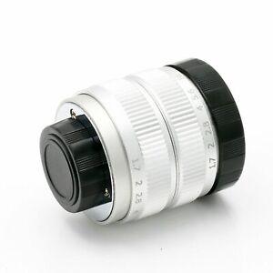 Fujian 35mm F1 7 Cctv Cine C Lens For Micro M4 3 Nex Eos Nikon N1 Eos M Fx Pq S Ebay