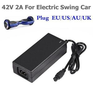 42V-2A-Charger-Adapter-Power-Cord-For-Hoverboard-Smart-Balance-Scooter-US-UK-EU