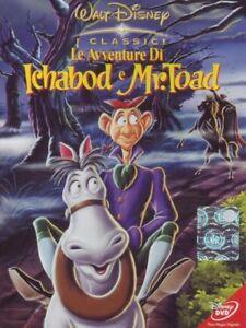 Le-Avventure-Di-Ichabod-E-Mr-Toad-Dvd-Nuovo-Sigillato