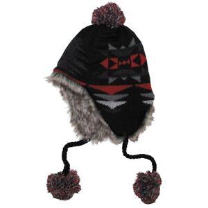 FOX-Outdoor-Chapeau-homme-femme-avec-faux-fourrure-Perou-Inca-10044A