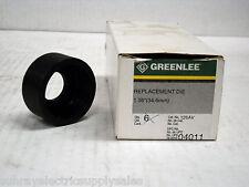 Greenlee 126AV Replacement Round Knockout Conduit Die 1 Inch