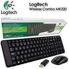 Logitech MK220 Wireless Keyboard and Mouse Combo With 3 Yrs Logitech warranty*