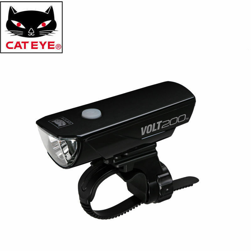 CATEYE Cycling Bicycle Rechargeable Portable Safety Bike Front Light Lamps