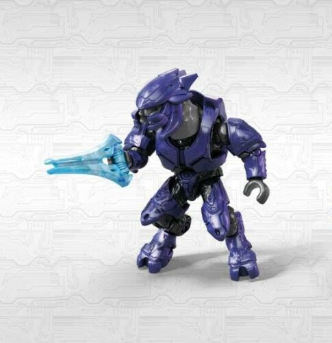 Mega Construx Halo Infinite 1 Series Purple Elite Mercenary NEW in Sealed Bag