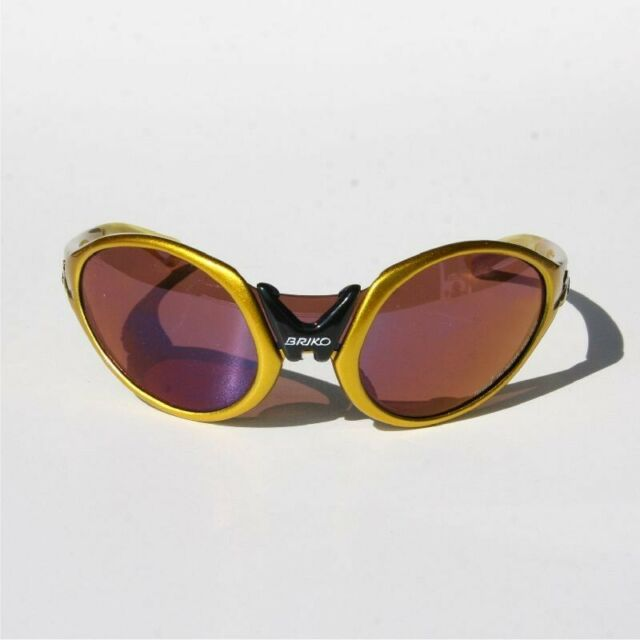 Briko Glasses Cycling 'Glasses Jumper' Metal Yellow TH.HC.AC.4000 Ce/8 New