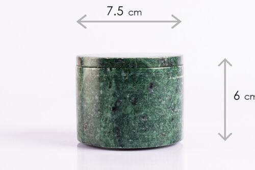 Marble Salt Pepper cellar Handmade canister condiment set Jewelry BoxTrinket Box