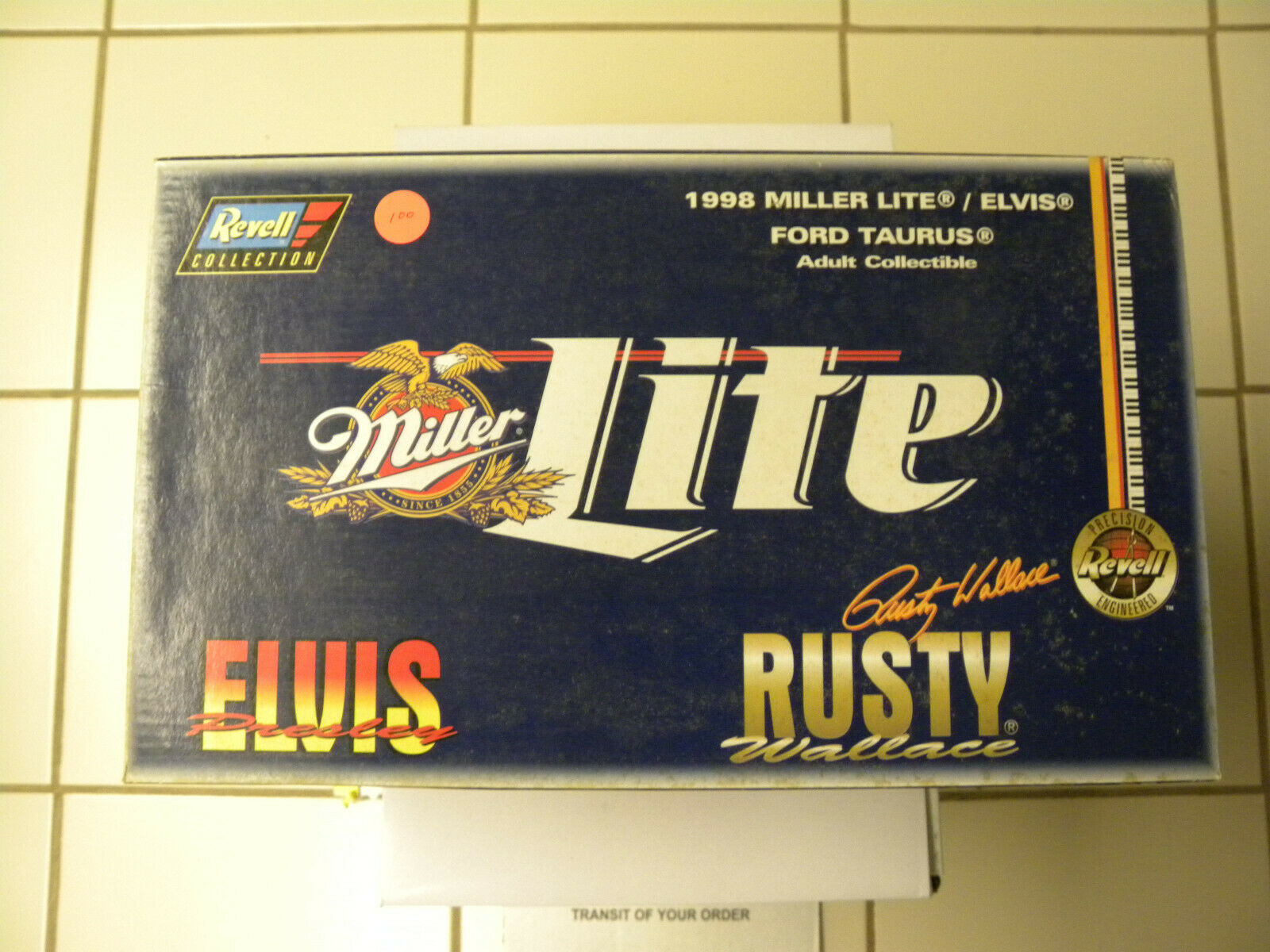 1998 Miller Lite Elvis,Rusty Wallace ford taurus 1 18 scale