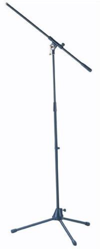 Schwenkarm ADAM HALL Mikrofonstativ schwarz Mikrofonständer Ständer mit Galgen