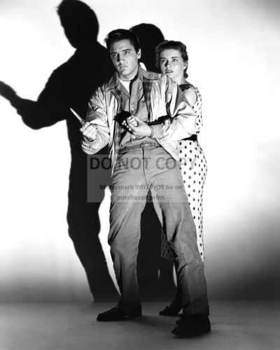"""AB975 ELVIS PRESLEY AND DOLORES HART IN /""""KING CREOLE/"""" 8X10 PUBLICITY PHOTO"""