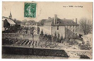 CPA-14-VIRE-Calvados-214-Le-College