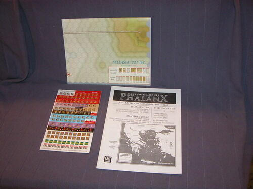 English New by GMT Phalanx; GBoH Alexander the Great Battle Module