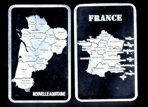 JOLI-LINGOT-PLAQUE-ARGENT-NOUVELLE-REGION-LA-NOUVELLE-AQUITAINE
