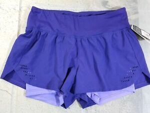 C9-Champion-Women-039-s-Shorts-2-in-1-Running-Layered-Purple-XS-NWT-Retail-20