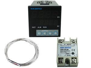 Fahrenheit Inkbird Digital Pid Temperature Controller 110V heater fan 25/40A SSR