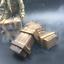 "1//6 Scale Scene Accessories Wooden Ammunition Bullets Weapon Box F 12/"" Figure"
