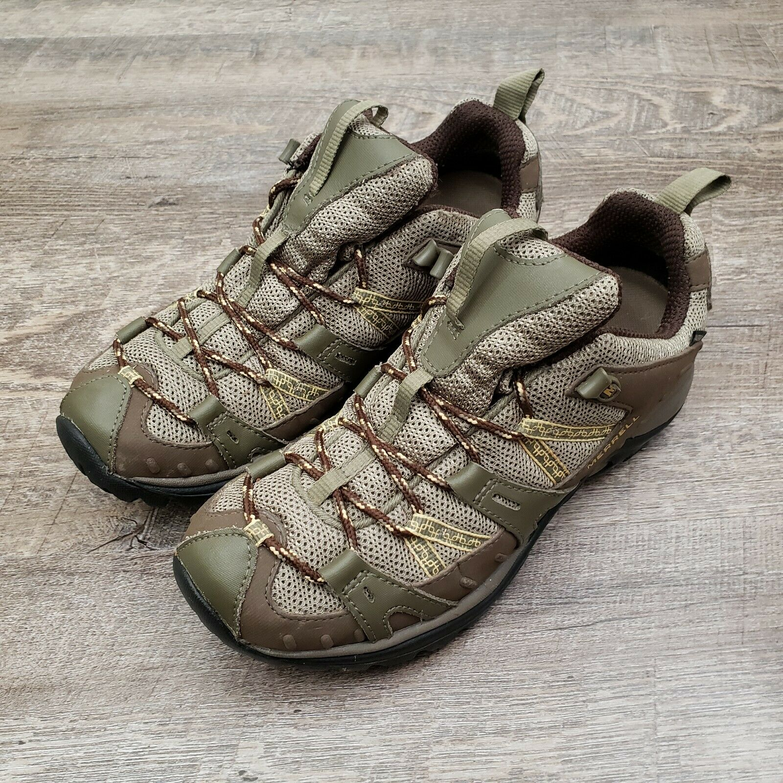 Merrell Siren  2 Brindle Women's Trail shoes Size 9 Hiking Waterproof Brown Olive  with 60% off discount