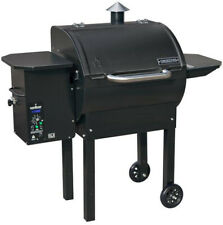 Camp Chef SmokePro DLX Pellet Grill Black Outdoor Cooking Freestanding