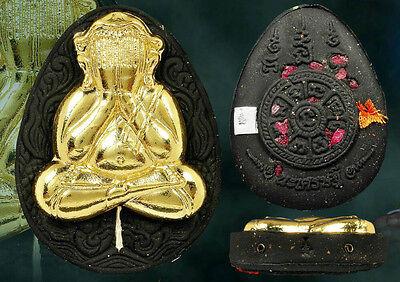 GENUINE THAI AMULET PHRA PIDTA LP.THO LUCKY PENDANT WAT LP BUDDHA MAGIC GOODLUCK
