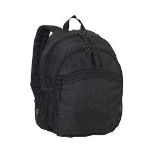 Everest-Unisex-Children-039-s-Deluxe-Backpack-7045S-Black-Size-OSFA