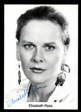 Elisabeth Rass Autogrammkarte Original Signiert # BC 57921