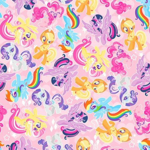 Packed Pony Friends 100/% cotton fabric **sold per fat quarter** My Little Pony