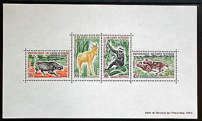 Elfenbeinküste Briefmarke Côte D'ivoire/elfenbein Coast Yvert Und Tellier Block N°2 N Cot1