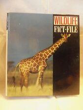 Wildlife Fact File Cards & Binder Learning Teaching Animals Groups 7-11
