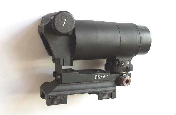 Belomo PK-como W Punto Rojo negro Dot Rifle Weaver Picatinny Colimador De Vista