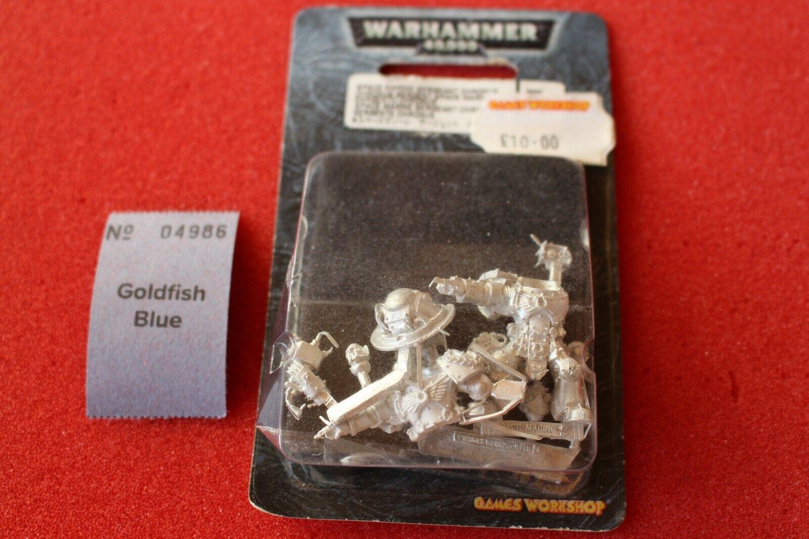 GW Warhammer 40k Ultramarine SERBATOIO Couomodante  Sergente Chronus IN METtuttiO NUOVO CON SCATOLA FUORI CATALOGO  compra meglio