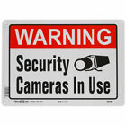 Hillman 843296 Security Cameras in Use Sign 10 in. x 14 in. 2 Pack