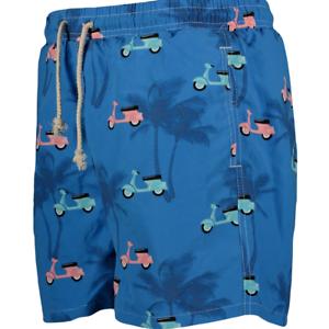 Xl Xxl 4xl New Rrp£95 In Verschiedenen AusfüHrungen Und Spezifikationen FüR Ihre Auswahl ErhäLtlich Mens Havacoa Swim Shorts Blue Retro M